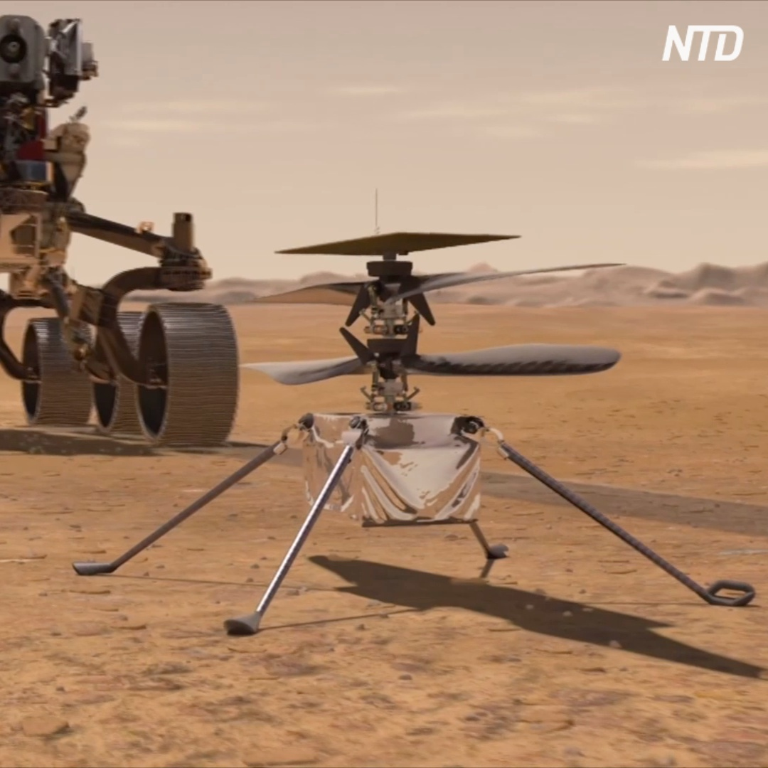 Уже скоро к марсу полетит первый вертолёт-разведчик