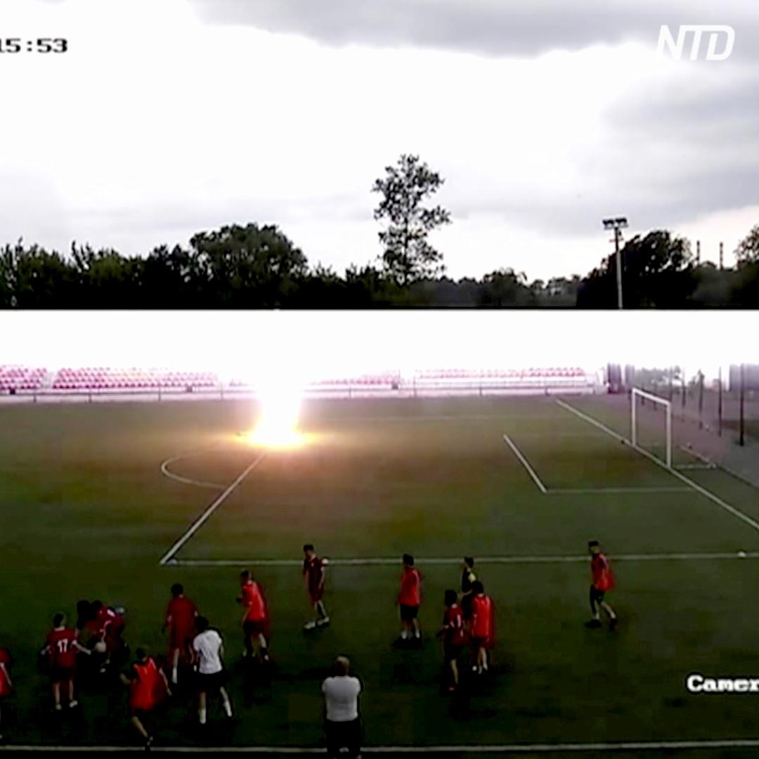 16-летний россиянин пережил удар молнии и уже играет в футбол