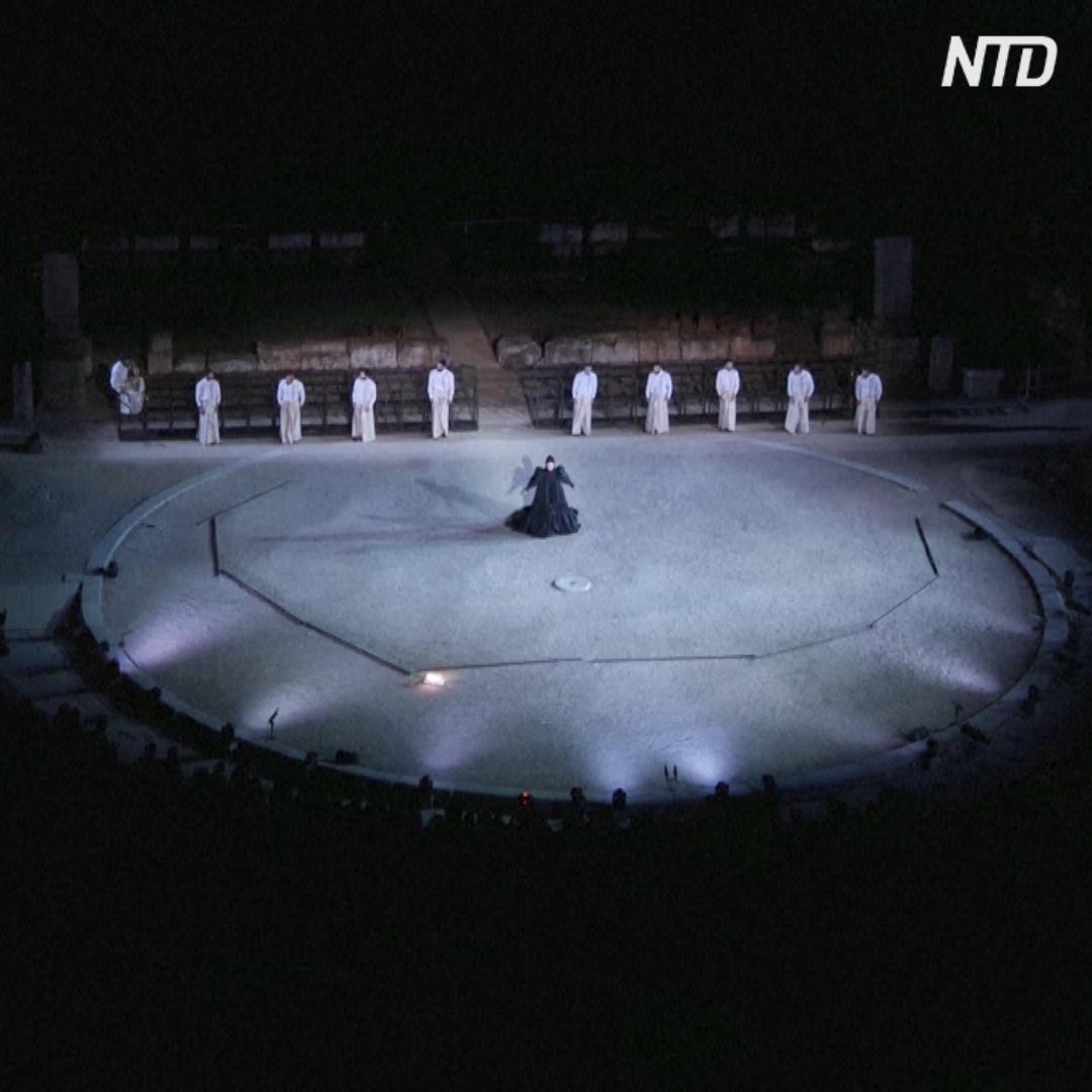В античном театре возрастом 2300 лет снова показывают представления