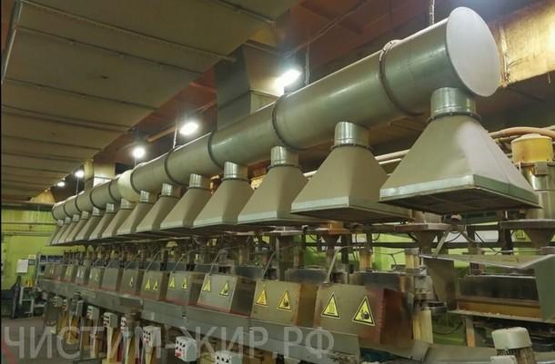 Очистка жировой вентиляции во многих сферах производства