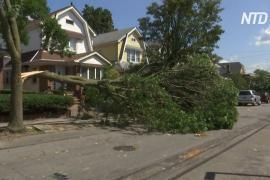 Нью-Йорк пострадал от шторма «Исайяс»