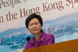 США наложили санкции на главу Гонконга, многие гонконгцы это поддержали