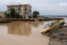 Внезапное наводнение в Греции: погибших пятеро