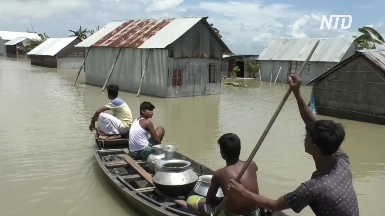 Треть Бангладеш страдает от наводнений