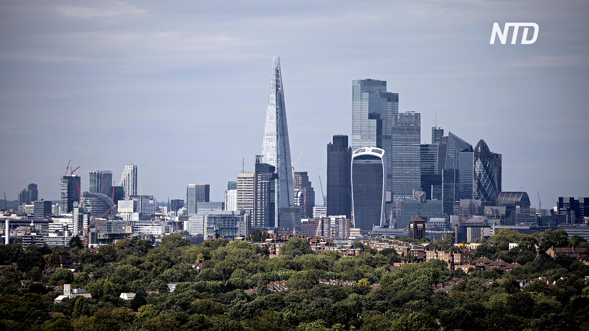 ВВП Великобритании сократился на рекордные 20,4% во втором квартале