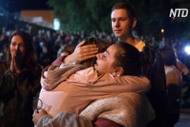 В Беларуси освобождают тысячи человек, задержанных в ходе протестов