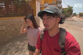 Японские молодожёны застряли на Кабо-Верде и стали послами олимпийской команды