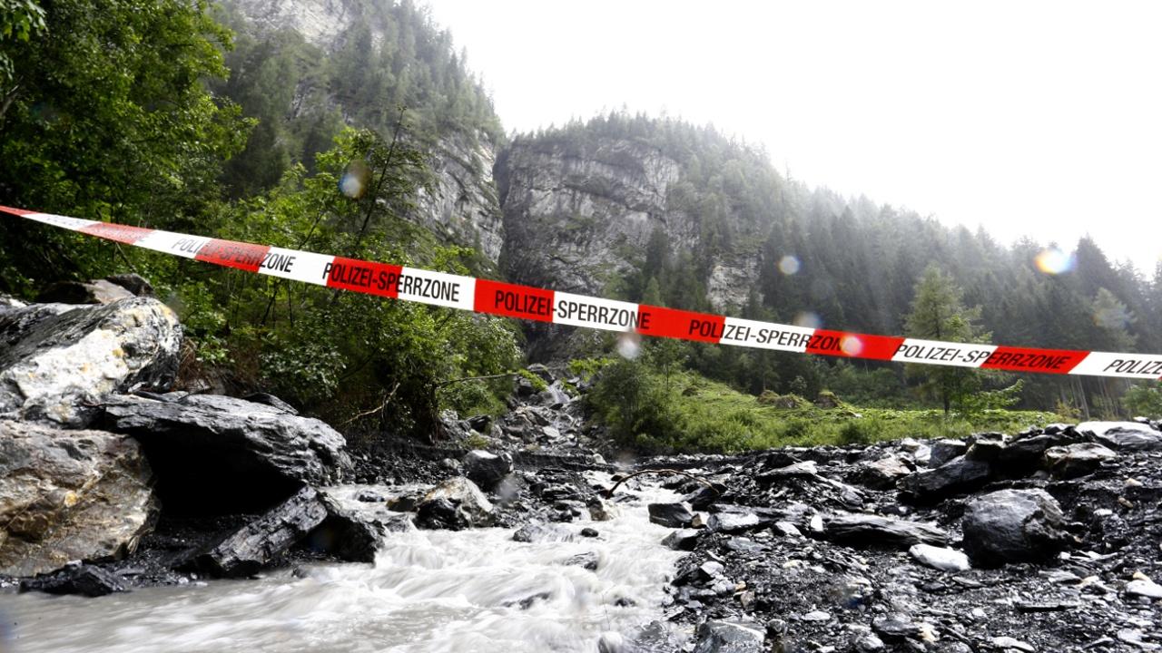 В Швейцарии погибли испанские туристы
