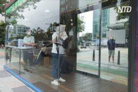 В Сеуле появились «умные» автобусные остановки с тепловизором и чистым воздухом