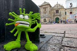 Пластилиновые фигурки помогают колумбийцу поднимать важные проблемы общества