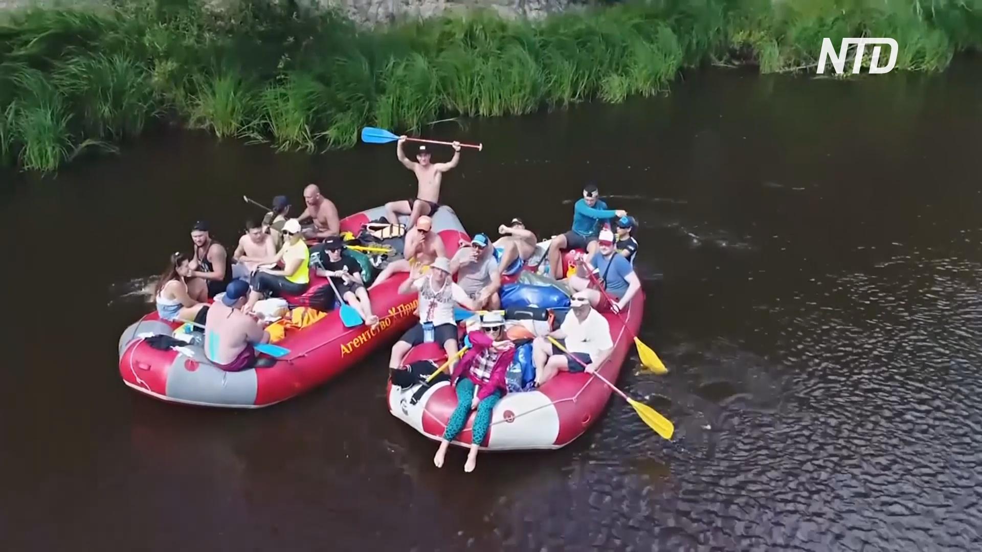 Россияне стали чаще путешествовать по рекам на лодках и байдарках