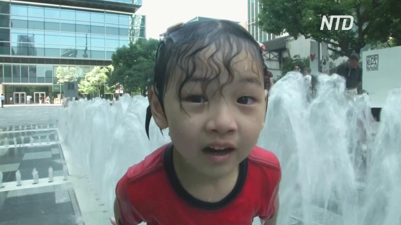 В Шанхае почти две недели – жарче +35