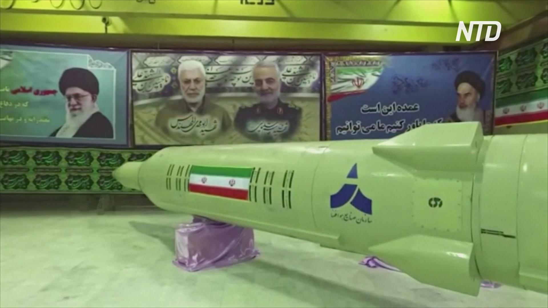 Иран представил две новые ракеты: баллистическую и крылатую