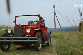 Мастер из Пермского края сделал кабриолет, похожий на «Жестяную Лиззи»