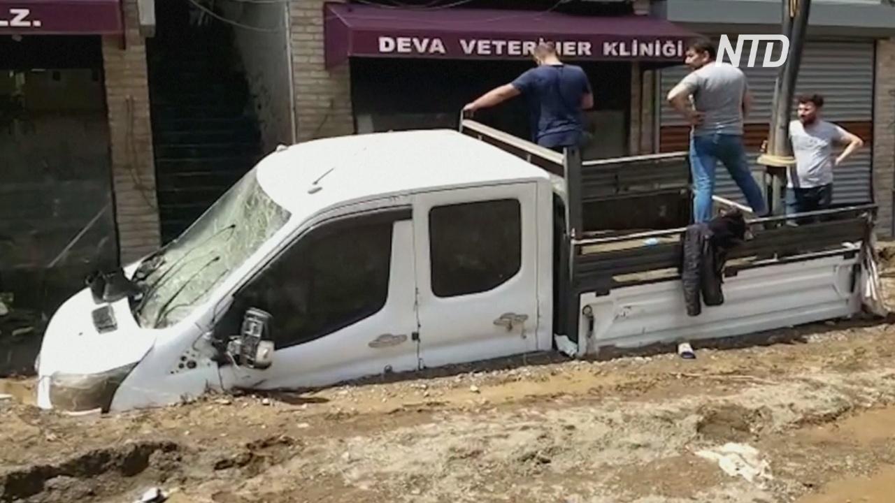 Растёт число жертв внезапных наводнений в Турции