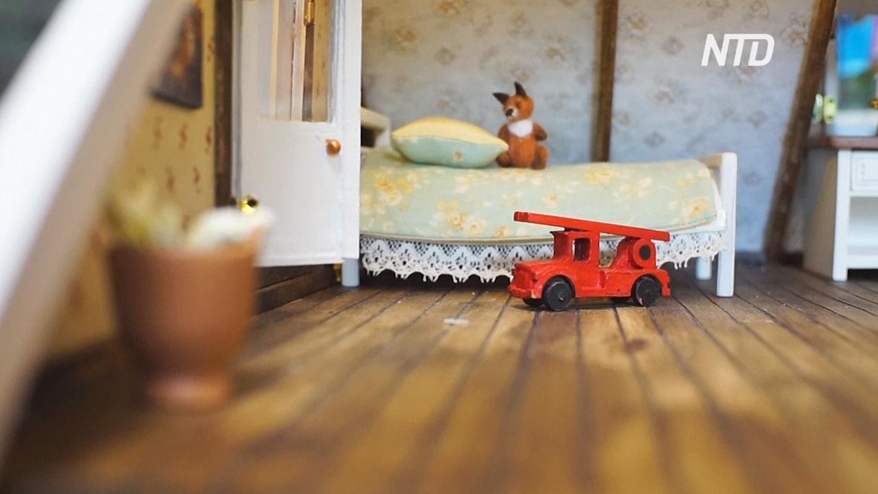 Миниатюрный мир: москвич делает крошечные дома с интерьером