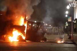 Губернатор штата Висконсин направил нацгвардию, чтобы остановить беспорядки