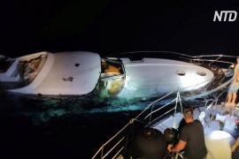 Береговая охрана Греции спасла с тонущего судна десятки мигрантов