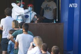 Испания пытается справиться с новой волной пандемии