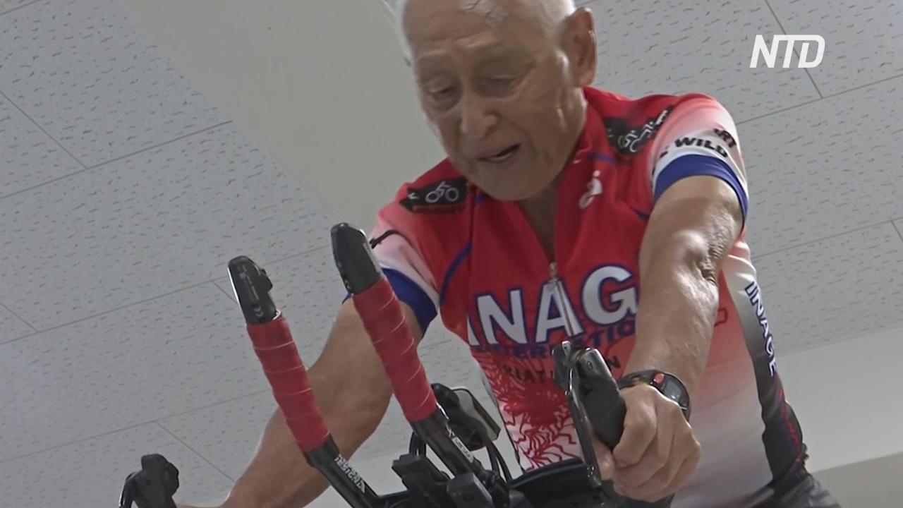 Старейший в мире триатлонец продолжает карьеру