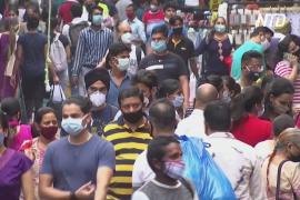 Индия установила мировой антирекорд по числу заражённых COVID-19 за сутки