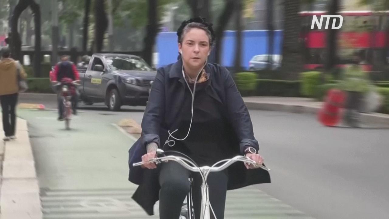 Променяли на велосипеды: жители Мехико не хотят ездить на метро и автобусах