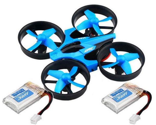 Квадрокоптер JJRC H36 mini (синий) с 3 -мя аккумуляторами