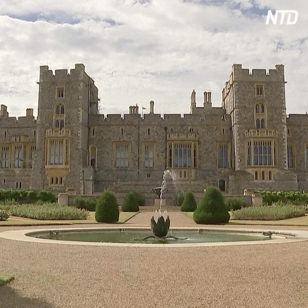 Впервые за 40 лет в сад Виндзорского замка пустили гостей