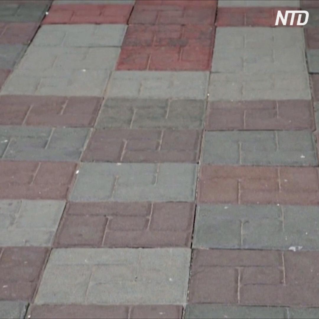 Бизнесмен перестал выпускать пакеты и стал делать тротуарную плитку из пластика