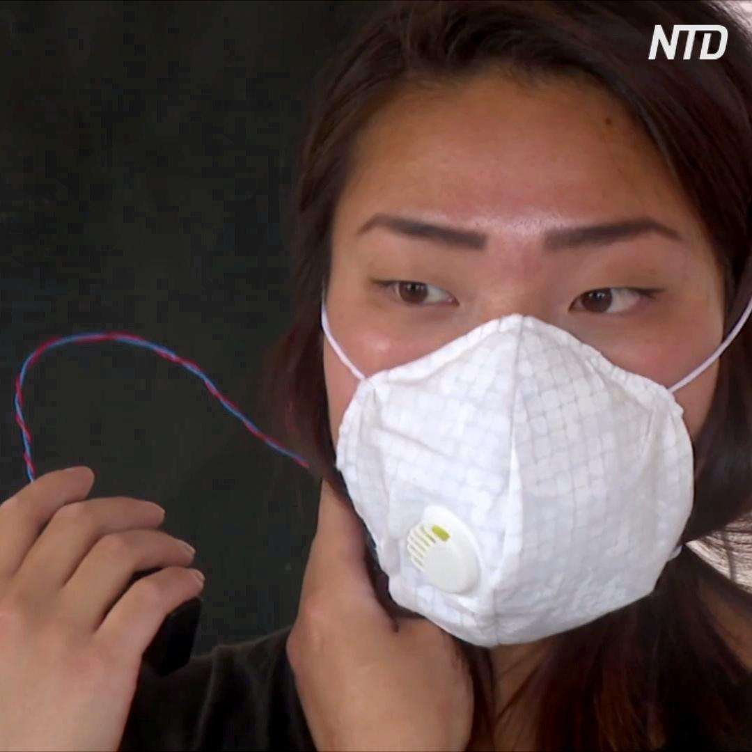 Студентка изобрела маску, которая сама убивает все бактерии и вирусы
