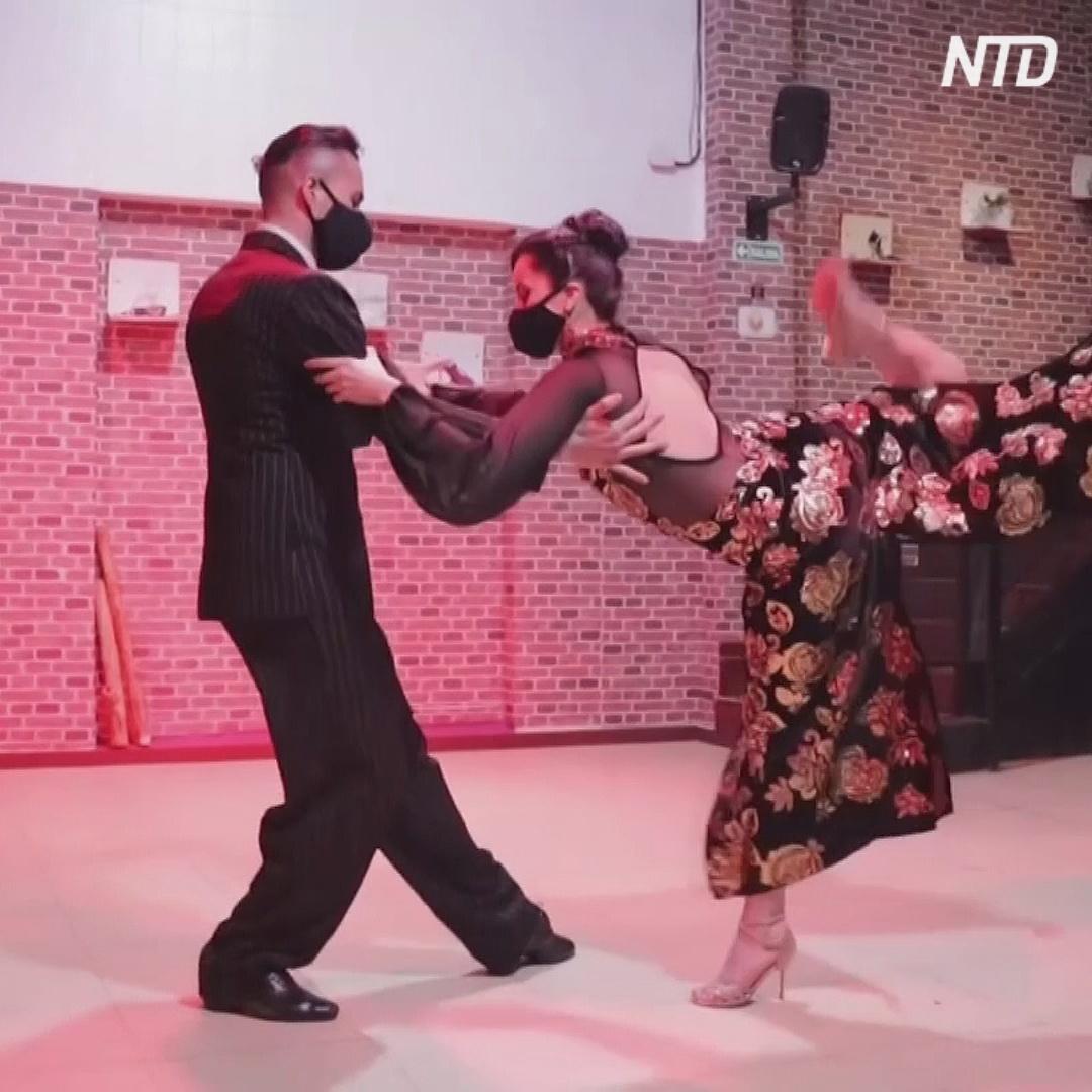 Знаменитый чемпионат танго в Аргентине проводят онлайн