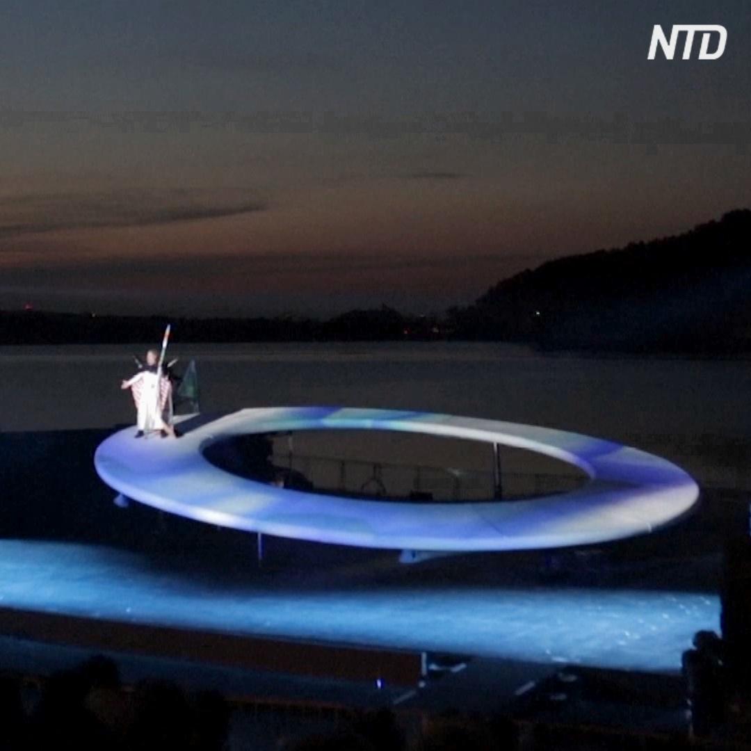 Оперу Вагнера в Болгарии поставили на плавучей сцене