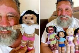 Почему бразильский дедушка вяжет эксклюзивные куклы