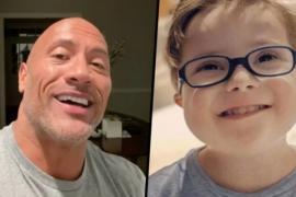 Дуэйн Джонсон записал обращение для трёхлетнего мальчика