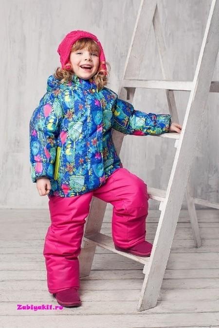 Зимний костюм для девочки 2-7 лет Хлоя от OLDOS