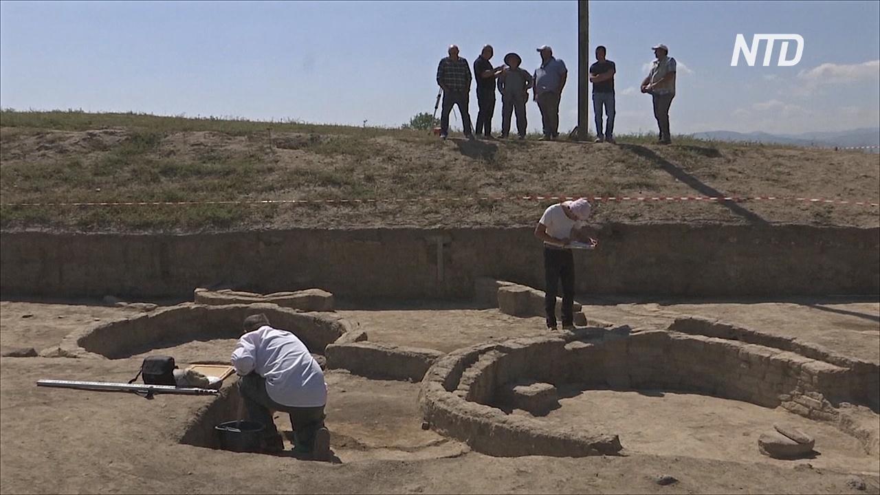 Поселение периода неолита с уникальными стенами нашли в Грузии