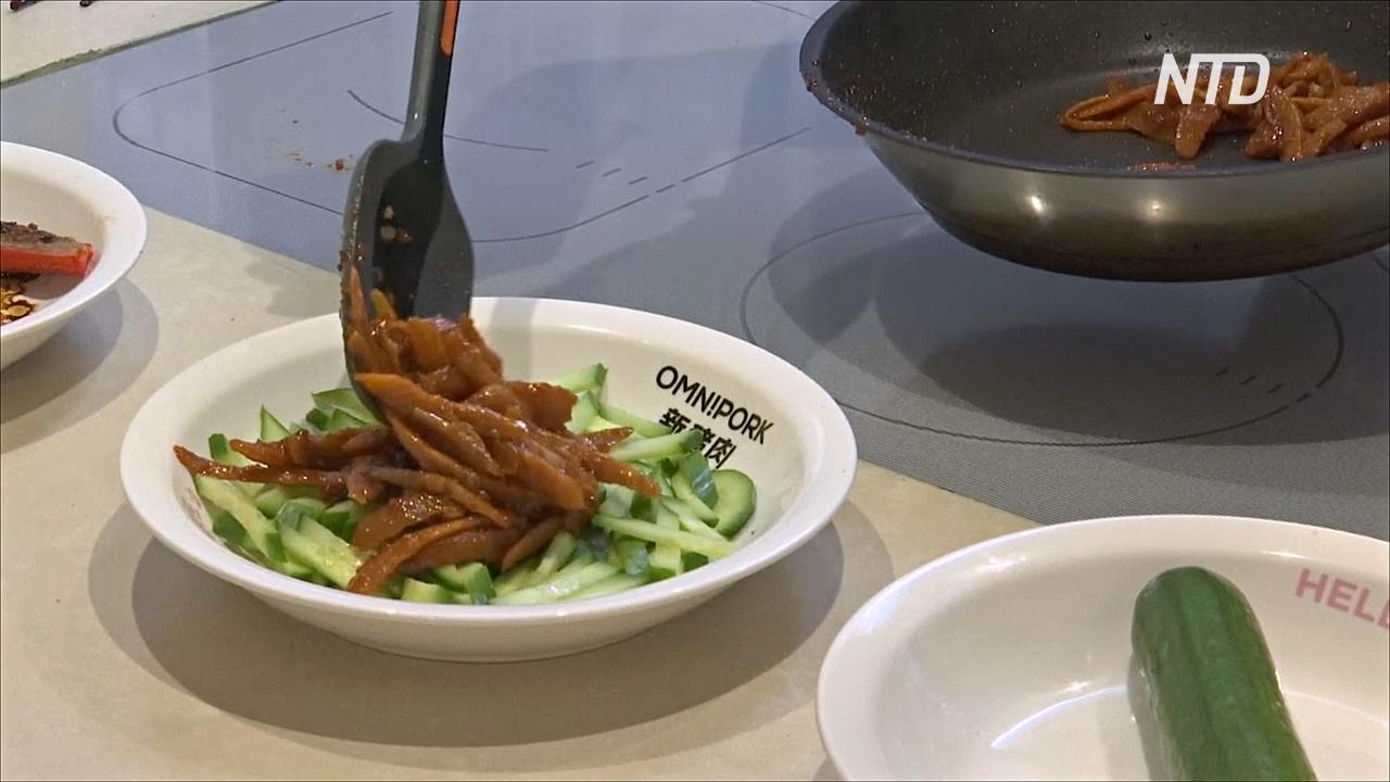 Гонконгцы распробовали вегетарианскую альтернативу свинине