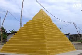 Макаронное искусство: нигериец создаёт из спагетти архитектурные миниатюры