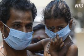 В Индии – снова антирекорд по суточному числу заболевших коронавирусом
