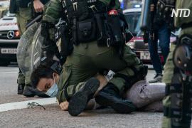 Не менее 290 человек арестованы в Гонконге во время протестов против отсрочки выборов