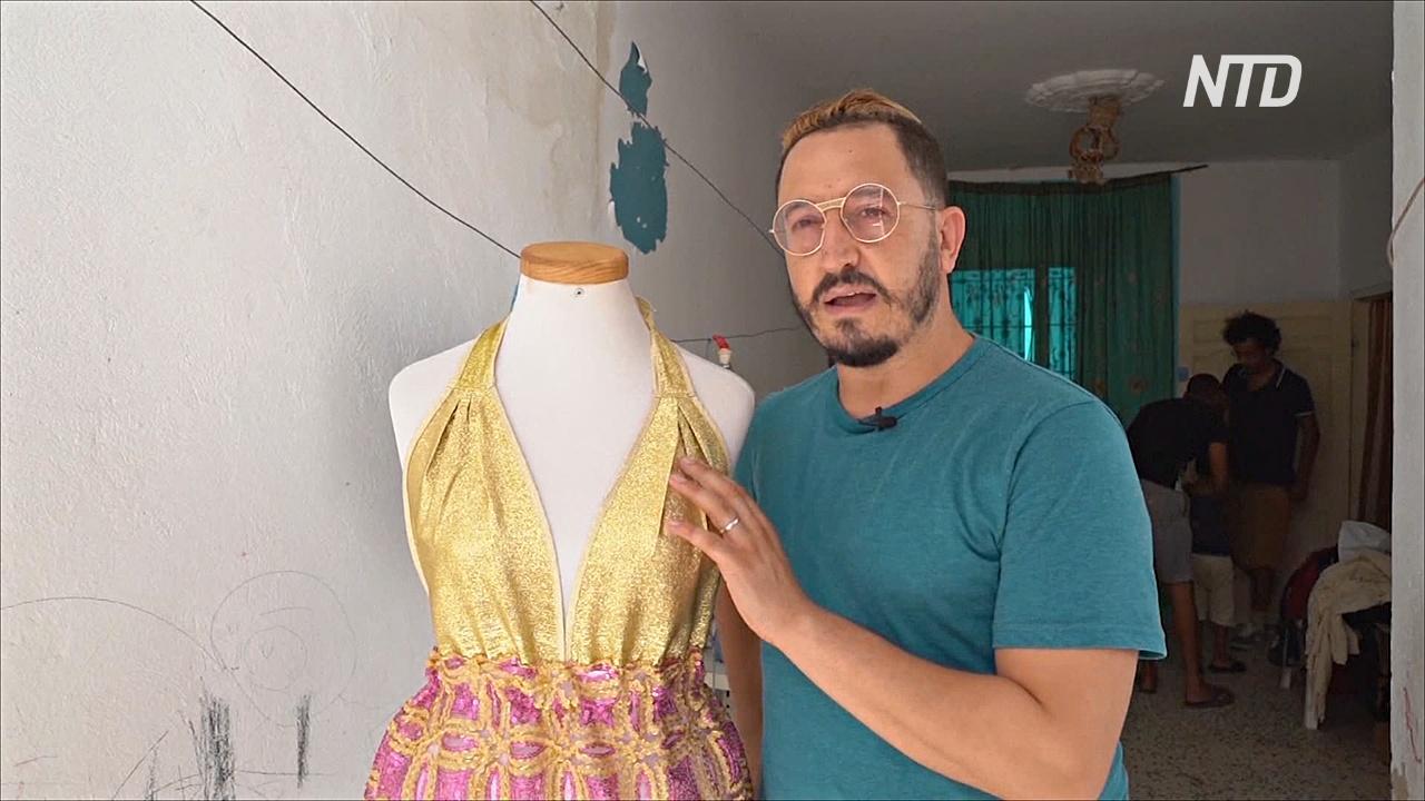Тунисский дизайнер сочетает местные ткани и экологичную моду