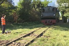 Румынские волонтёры восстановили старинную узкоколейку