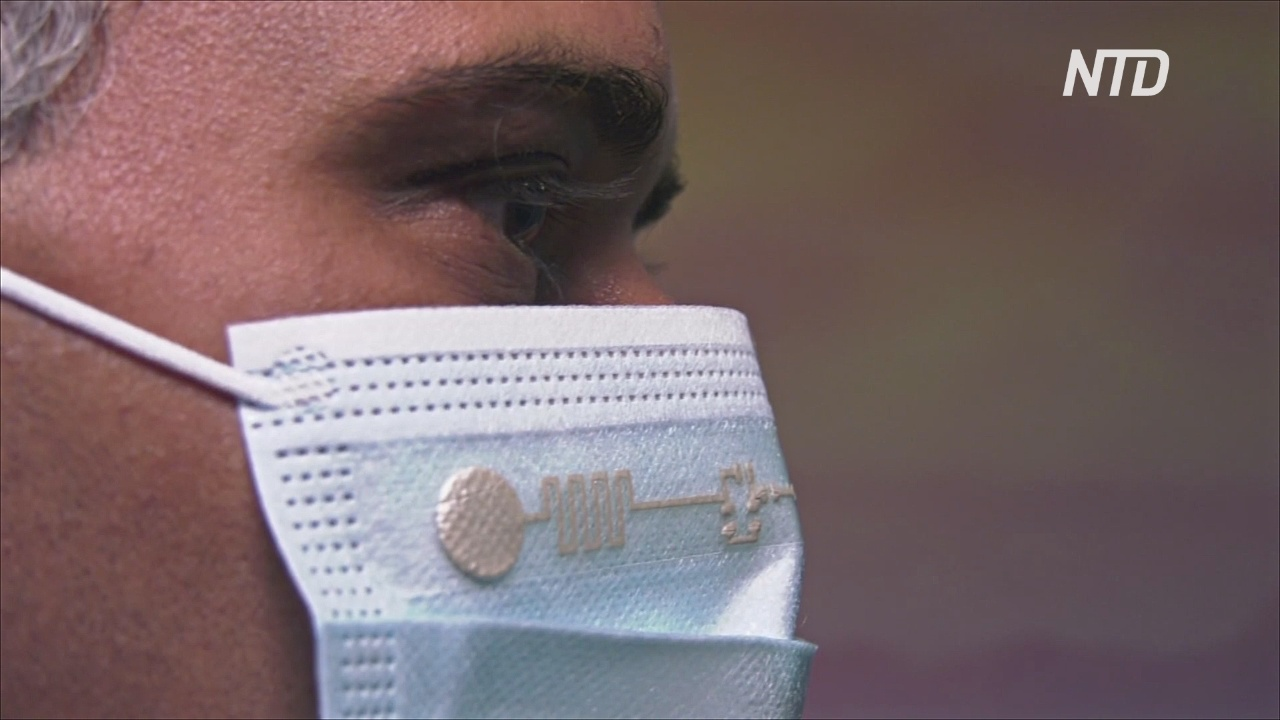 Умная» маска будет измерять температуру и дыхание