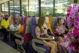 Авиаперевозчик в Таиланде открыл ресторан в стиле самолёта