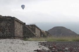 Среди пирамид Теотиуакана снова гуляют туристы