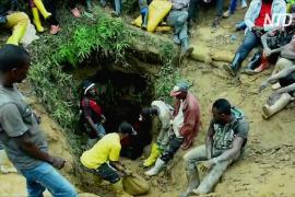 Более 50 человек погибли при обрушении нелегальной шахты в ДР Конго