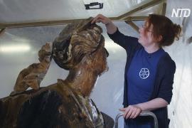 Носовые фигуры старинных кораблей показали на выставке в Англии