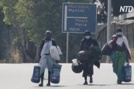 Германия примет 1553 мигранта с греческого острова Лесбос
