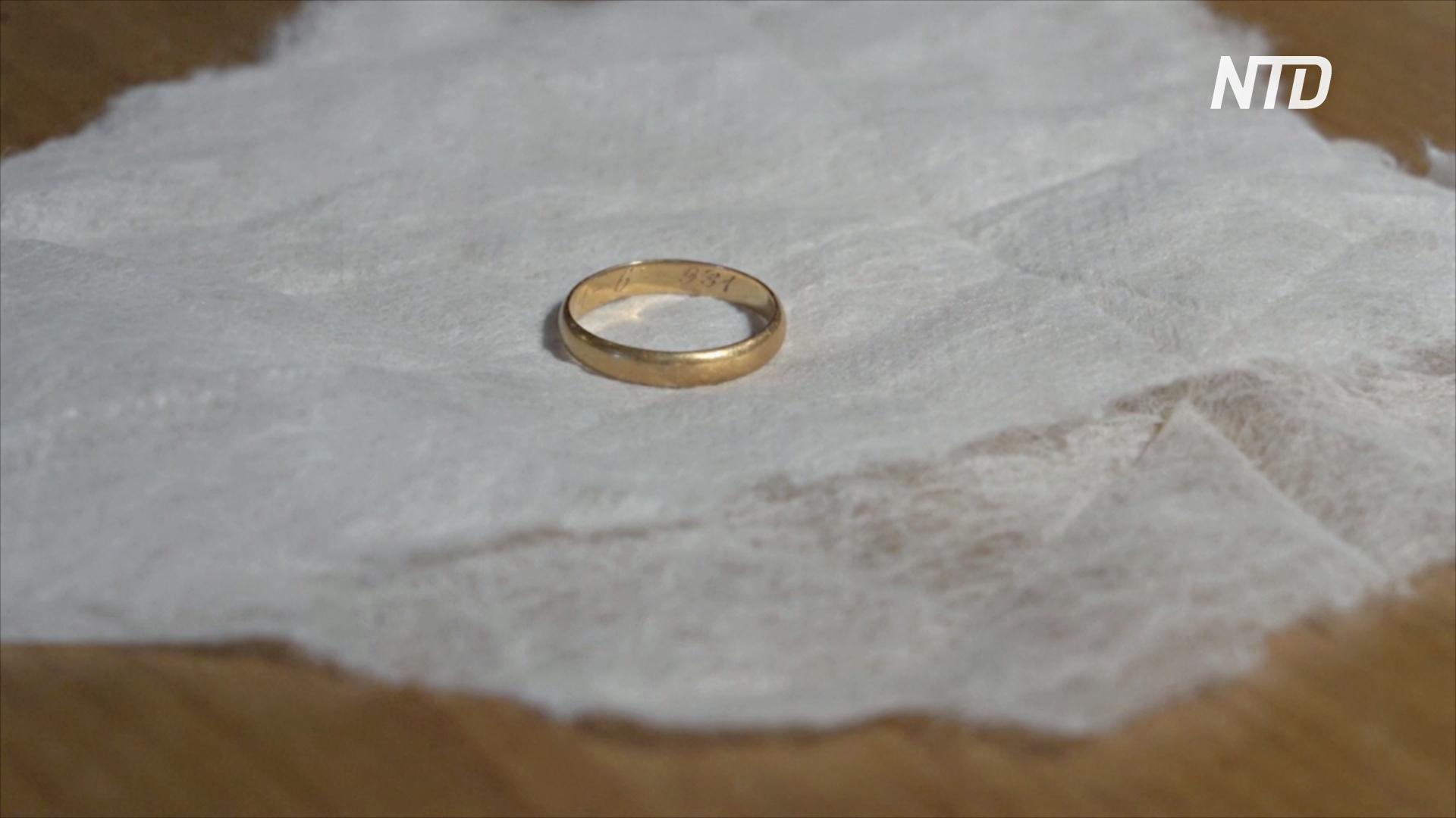 Дочь нашла останки отца в братской могиле через 84 года по обручальному кольцу