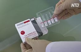 В России готовы производить по 120 тыс доз новой вакцины «Спутник V» в месяц